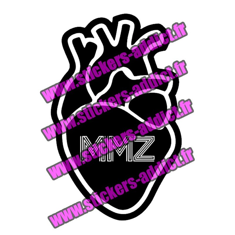 Stickers PNL Coeur MMZ