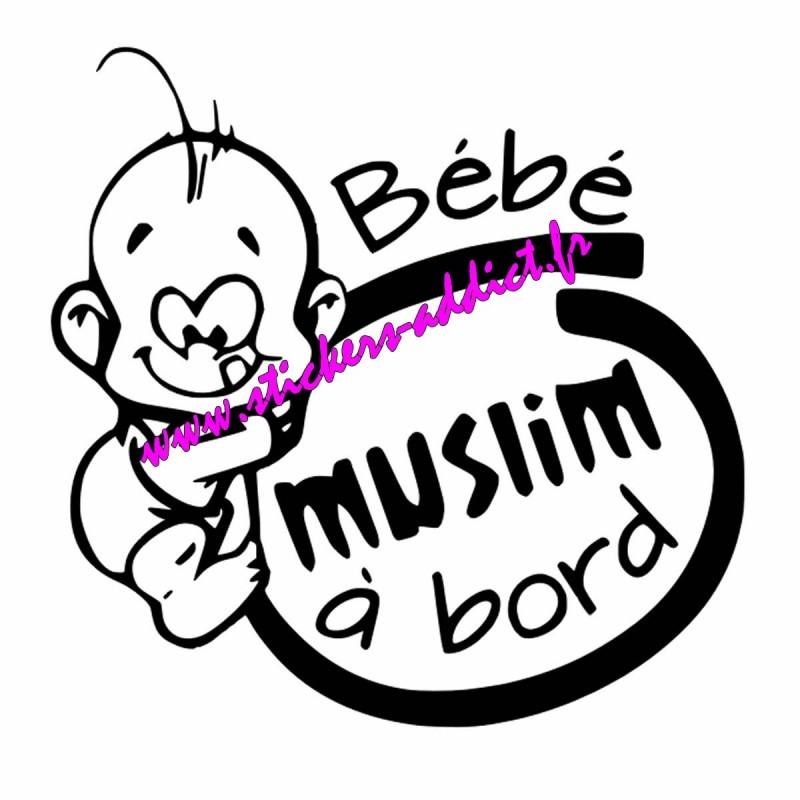 Bébé à Bord Muslim