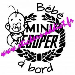 Bébé à Bord Mini Cooper