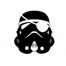 Stickers Trooper Pirate