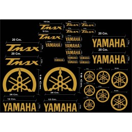 Kit 30 Stickers Tmax 530 de 2012 a 2020