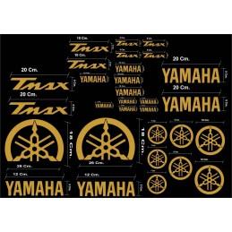 Kit 30 Stickers Tmax 530 de 2012 a 2020
