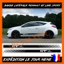 bandes latérales Renault GT LINE SPORT