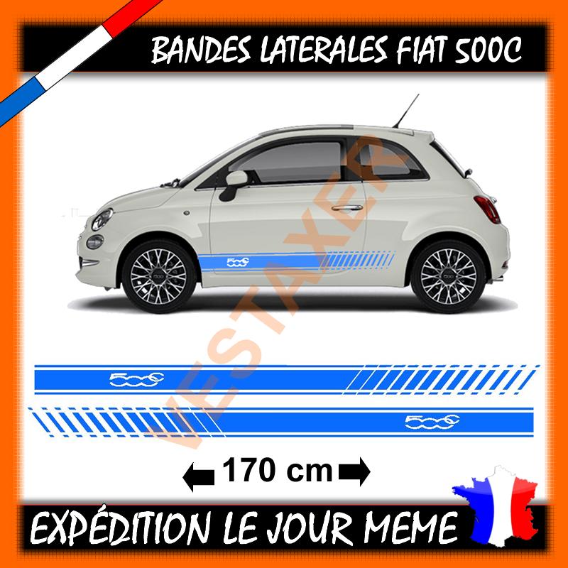 bandes Latérales Fiat 500c