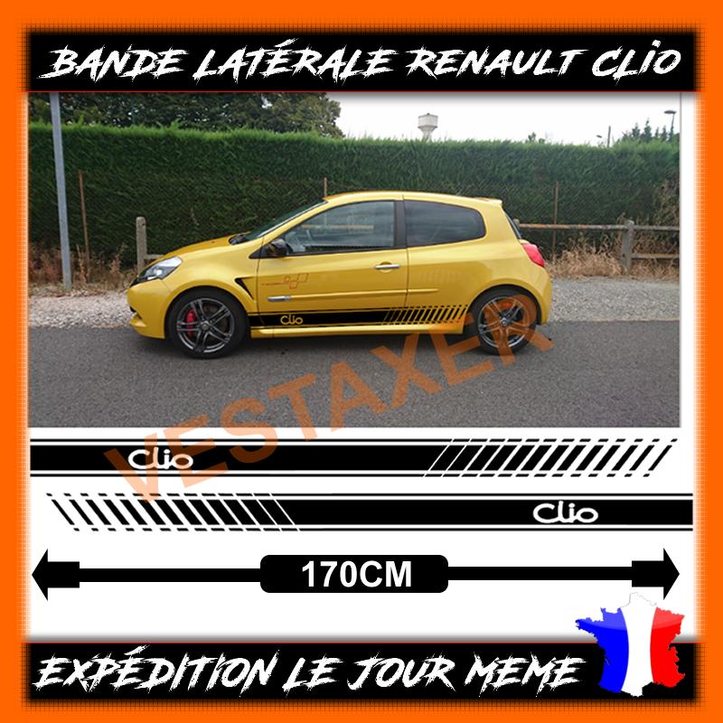 bandes Latérales Renault Clio Sport