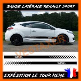 Stickers bandes latérales Renault Sport
