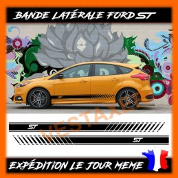 Stickers bandes latérales FORD ST