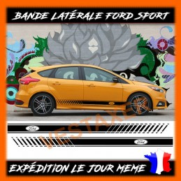 Stickers bandes latérales FORD
