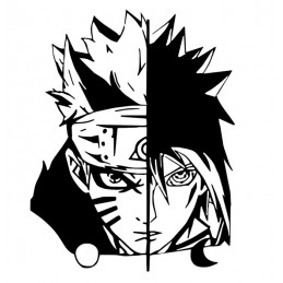 Stickers Naruto & Sasuke