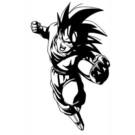 Stickers San Goku Dragon Ball