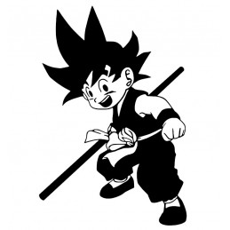 Stickers Petit Goku Dragon Ball