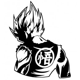 Stickers Saiyan Dragon Ball
