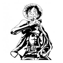 Stickers Monkey D. Luffy One Piece