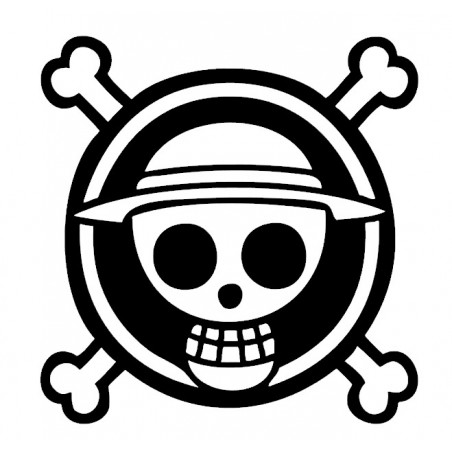 Stickers Logo One Piece