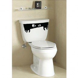 Stickers Toilette WC Eyes