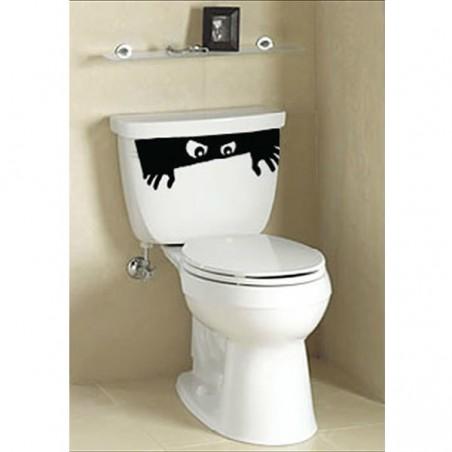 Stickers Toilette WC Eyes