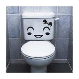 Stickers toilette WC Tête 2