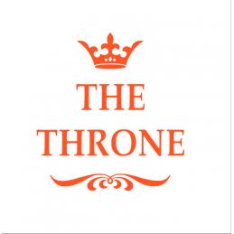 Sticker toilette the Throne