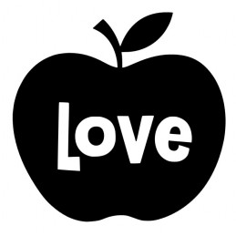 Stickers Pomme Love