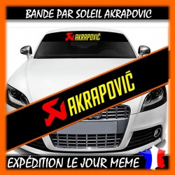 Bande Pare-Soleil Akrapovic
