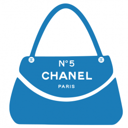 Sticker Sac Chanel N°5