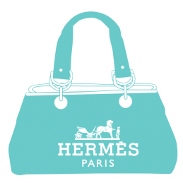 Sticker Sac a mains Hermes