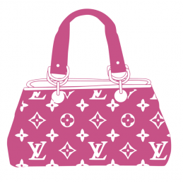 Sticker Sac a mains louis vuitton