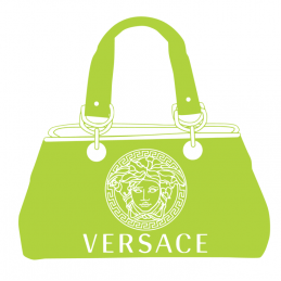 Sticker Sac a mains VERSACE