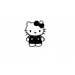 Stickers Hello-Kitty Bimbo 1