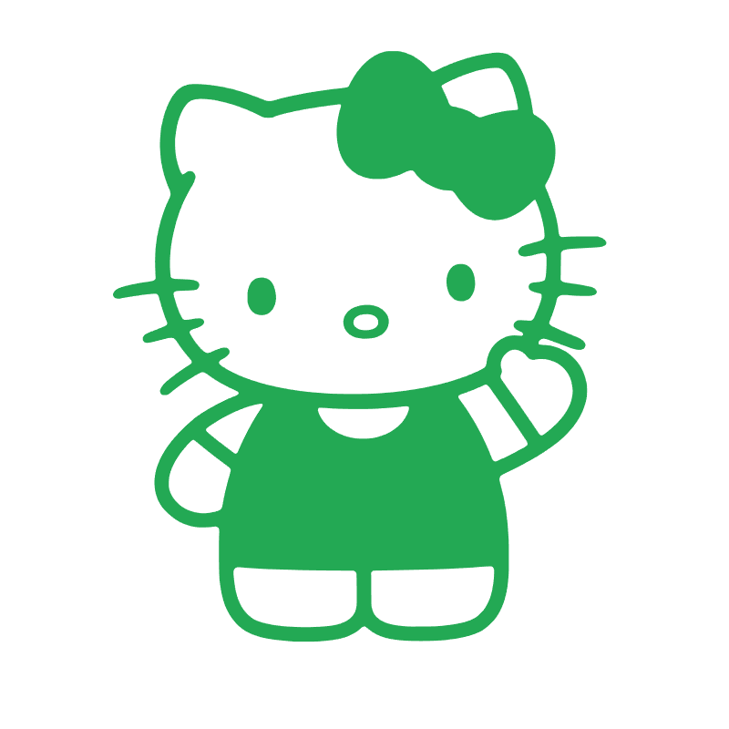 Stickers Hello-Kitty