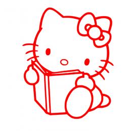 Sticker Hello-Kitty