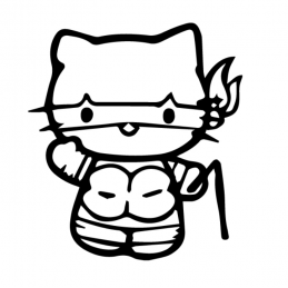 Sticker Hello-Kitty