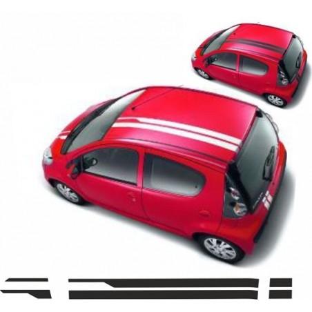 Bandes latérales Citroen C1 / Peugeot 107