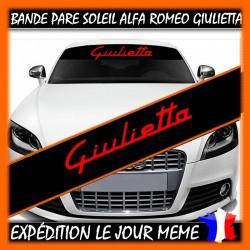 Bande Pare-Soleil Alfa Romeo Guilietta