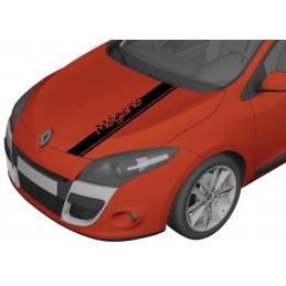 bandes Capot Renault Megane