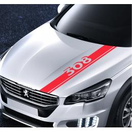 bandes Capot Peugeot 308
