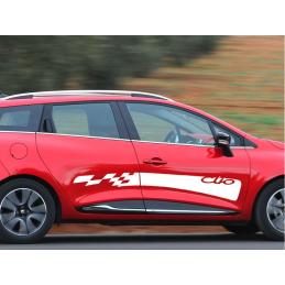 Bandes latérales Renault Clio
