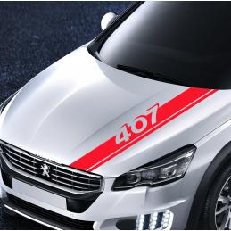 bandes Capot Peugeot 407