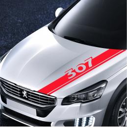 bandes Capot Peugeot 307