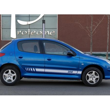 Bandes latérales Peugeot 206