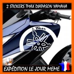 2 STICKERS DIAPASON TMAX 2008/2011