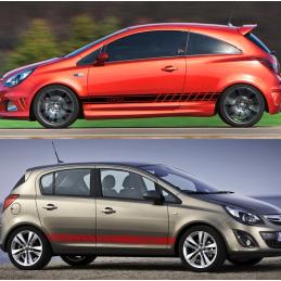 Bandes latérales Opel corsa