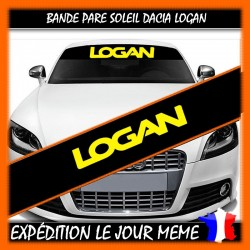 Bande Pare-Soleil Dacia LOGAN