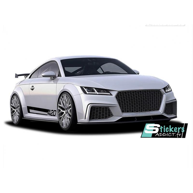 Bandes latérales Audi TT 420