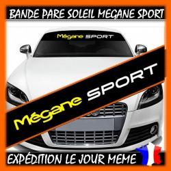 Bande Pare-Soleil Renault Megane Sport