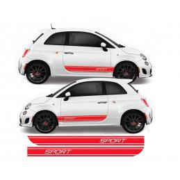 Bandes Latérales Fiat 500 Sport
