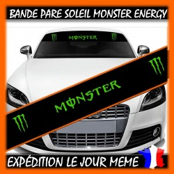 Bande Pare-Soleil Monster...