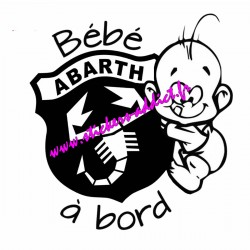Bébé à Bord Abarth