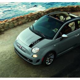 bandes Capot Fiat 500