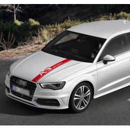 bandes Capot Audi A3 Sport